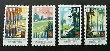 Germany Forest Conservation 1969 Rubber Tree Waterfall Agricultural (stamp) MNH