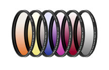 58mm 6 Piece Professional Gradual Color Filter Kit 58mm by ULTIMAXX