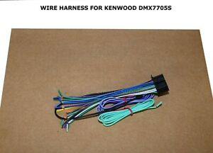 WIRE HARNESS FOR KENWOOD DMX7705S DMX-7705S 22 PIN FREE FAST SHIPPING
