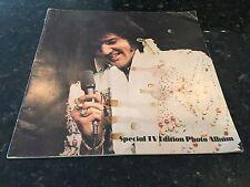 Signed Special TV Edition Photo Album ELVIS PRESLEY circa 1974