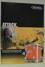 OTEP Doug Pellerin MAPEX DRUMS Full Page AD magazine clipping 2005