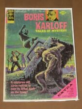 BORIS KARLOFF TALES OF MYSTERY #58 VG GOLD KEY 1974 W/ 16-PG TOY CATALOG