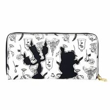 More details for disney beauty and the beast premium zip-around purse