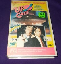 UFO CAFE VHS PAL RICHARD MULLIGAN BEAU BRIDGES