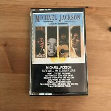 MICHAEL JACKSON Farewell My Summer Lover - Cassette Tape WK72630 Motown 1984