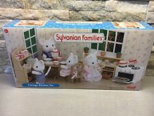 Sylvanian Families Cottage Kitchen Set RARE VINTAGE Furniture Calico Critters