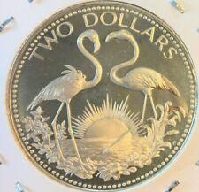 Bahamas - Silver 2 Dollar coin - 1974 - Proof