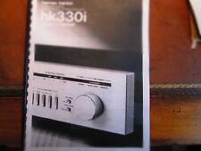 New listing Copy of Harman Kardon Hk330I Receiver Owners Manual