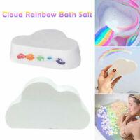Cloud Rainbow Bath Salt Ball Essential Oil Effervescent Bubble Skin Care