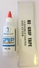 Golf Grip Full Set Replacement Kit   13 Pieces of Tape and 4oz Grip Solvent