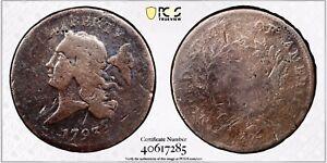 1793 Liberty Cap Half Cent PCGS Good Details Surface, Strike & Color TruView