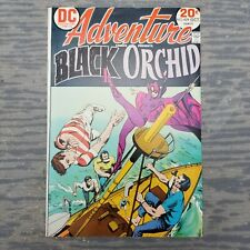 Black Orchid Vol. 39 #429 Challenge to the Black Orchid DC Adventure Comics 1973