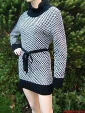 Checked Long Sleeve Jumper Dresses for Women