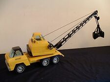 Vtg Nylint Construction Truck Husky Crane Press Steel Toy Rockford Ill USA #230