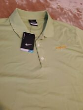 NEW Nike Dri-Fit Mens Polo Shirt Size LARGE green Short Sleeve Safeguard