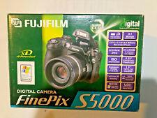 Fujifilm FinePix S Series S5000 3.1MP Digital Camera - Black