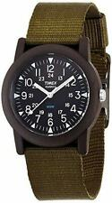 [Timex] TIMEX wristwatch watch campers 34mm case Military style khaki Men Women