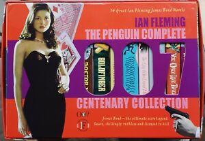 Ian Fleming THE PENGUIN COMPLETE 007 JAMES BOND COLLECTION 14 Book Box Set