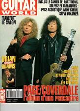 "GUITAR WORLD #44 ""Page/Coverdale,Saga,B.Adams,Ritenour,B.Guy"" (REVUE)"