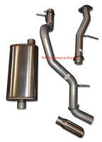 Fits 01-06 Tahoe Yukon 4.8 5.3 Mandrel Bent Exhaust Performance Muffler - Mellow