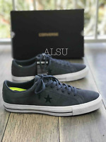 Sneakers Men's Converse One Star Pro Suede Sharkskin Grey Atomic Teal Low Top