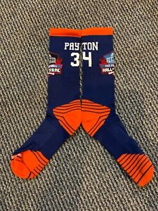 WALTER PAYTON CHICAGO BEARS DRI FIT HALL OF FAME SOCKS TOP OF THE LINE