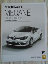 Renault Megane Coupe Cabriolet brochure Jul 2014