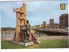 62 - TARJETA POSTAL- - BOLOÑA EN EL MAR - puerto de y monumento Frédéric Salvaje