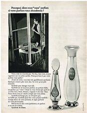 PUBLICITE ADVERSTISING  1968  DANA  pafum  SYMBOLE
