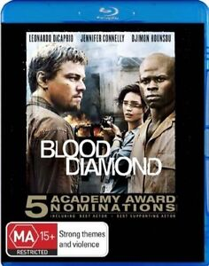 Blood Diamond (Blu-ray, 2007) Leonardo DiCaprio, Jennifer Connelly