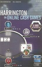 Harrington on Online Cash Games; 6-Max No-Limit Hold 'em, , Dan Harrington, Bill