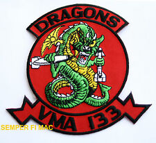 VMA-133 DRAGONS PATCH US MARINES ATTACK SQUADRON A-4 SKYHAWK PILOT CREW GIFT WOW