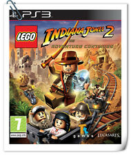 PS3 LEGO Indiana Jones 2 Sony Playstation Games Action Warner Home Video