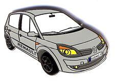 Renault SCENIC II belle qualité émail 2 attaches 30ex numéroté neuf