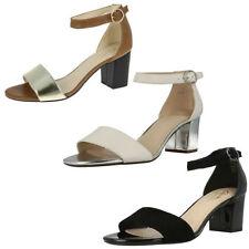 Clarks Block Evening Sandals & Beach Shoes for Women