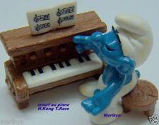 40229 super Schtroumpf au piano smurf pitufo puffo puffi  schtroumpfette raris.