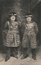 """*London Postcard-""""Yeomen of The Guard"""" /Tower of London/-...(Beefeaters)"""