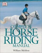 Complete Horse Riding Manual Micklem, William Hardcover