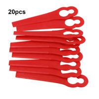 Red Plastic Blades for EINHELL AT BG-CT GE-CT RG-CT 18 Li Strimmer Trimmer x 20