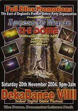 (RAVE FLYER 2004) DEKADANCE 9 @ DONCASTER,THE DOME. SEDUCTION.STU ALLEN. MZONE