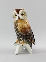 9941684 Porcelain Figurine Bird Woodchuck Ens 25, 5x11 CM