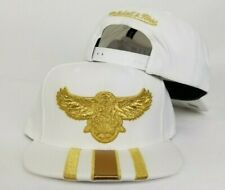 Mitchell & Ness White NBA Atlanta Hawks snapback Hat Cap
