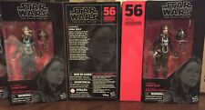 Star Wars The Black Series Jaina Solo 6-Inch Action Figure In Hand.