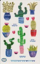 Mrs. Grossman's Giant Stickers - Collaged Cacti - Cactus in Pots - 2 Strips