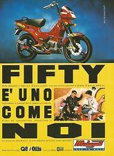 X0901 Fifty Malaguti - Idee in moto - Pubblicità 1995 - Vintage advertising