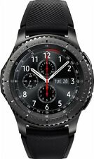 Samsung - Gear S3 Frontier Smartwatch 46mm - Dark Grey - SM-R760NDAAXAR