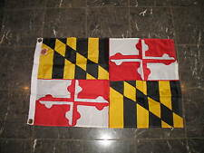 2x3 Embroidered Maryland 300D Sewn Nylon Flag 2'x3' Banner