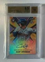 💎BGS 9.5💎 2017 Topps Fire Autographs Purple /50 Alex Bregman🔥On Card Auto🔥
