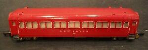 "Vintage American Flyer ""S"" Gauge New Haven 650 Passenger Car PA-10454-A"