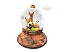 NEW Hallmark Disney Bambi Thumper Water Globe 'Forest Friends Forever' CLX2012